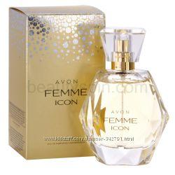 Парфюмированная вода Femme Icon от Avon 50 мл новая в пленке