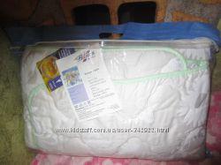 Новое детское одеяло Bilana - сатин овечья шерсть