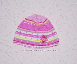 Легкая летняя шапка Maximo для новорожденной девочки 0-3 мес.
