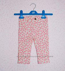 Модные штаны узкачи для девочки Baby M&Co 6-9 мес.