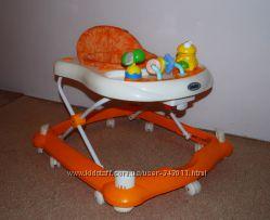 Яркие оранжевые ходунки Geoby XB20B