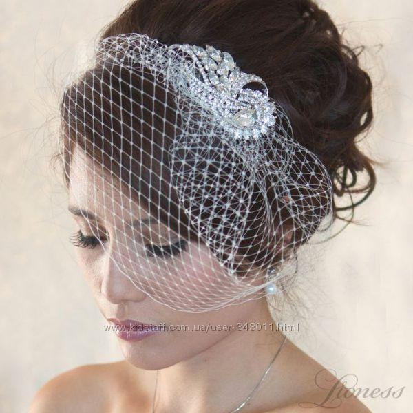 Гребешок для свадебной прически. Аксессуары для невесты.