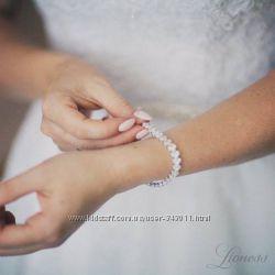 Браслеты с цирконами. Браслет для невесты. Браслеты с кристаллами Swarovski