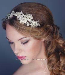 Диадема-ободок для невесты. Эксклюзивные винтажные свадебные диадемы