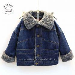 Джинсовая курточка унисекс - весна-осень
