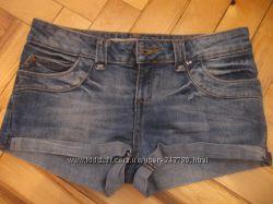 Фирменные джинсовые шорты отличное состояние
