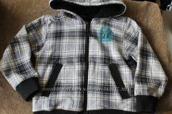 Утеплённая кофта меховушка H&M на 2-4 года 98-104см