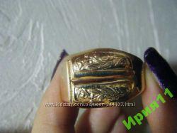 мужской перстень, печатка, 11, 27гр, золото 583 проба