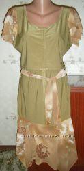 интересный летний женский костюмюбкатоп-блуза