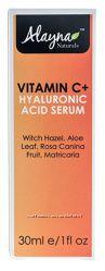Омолаживающая сыворотка для лица с витамином С, acid serum и гиалуронкой