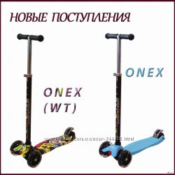 Самокат ONEX WT ECOLINE Аналог Макси Новинка Колеса светятся