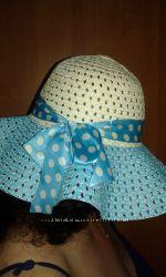 Красивая шляпа с полями на море. раз. 58. Состояние отличное