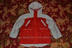 Демисезонная фирменная термо куртка р. 122