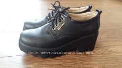 Туфли - Ботинки, Броги кожаные 100 на тракторной подошве