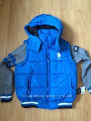 Новая весенне- осенняя куртка U. S. Polo Assn
