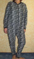 Флисовый комбинезон, слип , пижама