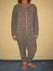 Флисовый комбинезон, слип , пижама, размер 12-14