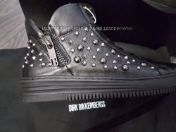 Кожаные ботинки Dirk Bikkembergs 37 размера