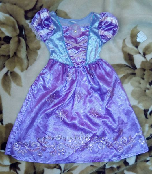Платье Рапунцель, оригинал Disney