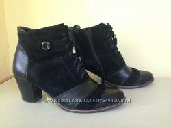 Продам кожаные женские демисезонные ботинки