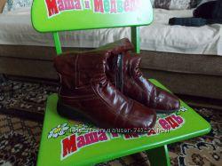 кожаные сапоги дешево