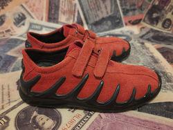Демисезонные кожаные кроссовки, полуботинки Ecco. Размер 30.19см.