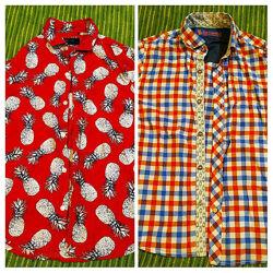 Стильные летние рубашки, тенниски Next, 7-8лет, 122-128см