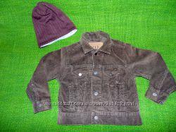 Gap вельветовый коричневый пиджак, куртка. XS. 4T-5T