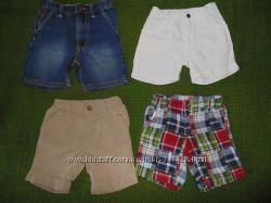 Летние шорты, бриджи 1, 5-4г. George, Next, H&M