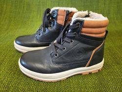 Классные теплые ботинки Run. Размер 34. 22см