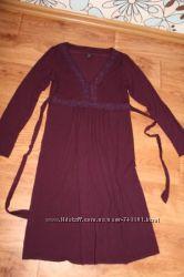 Фирменное платье для беременной в размере М