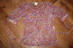 Блузка шелк Италия для беременной