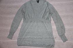 тонкий свитер для беременной размер М