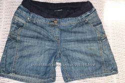 тонкие джинсовые шорты для беременной ОБ 90-98