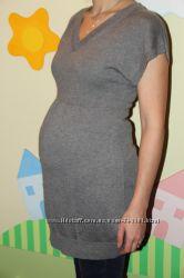 свитер-туника для беременной размер С