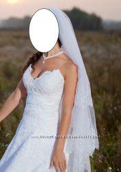Эксклюзивное свадебное платье ручной работы ТОРГ