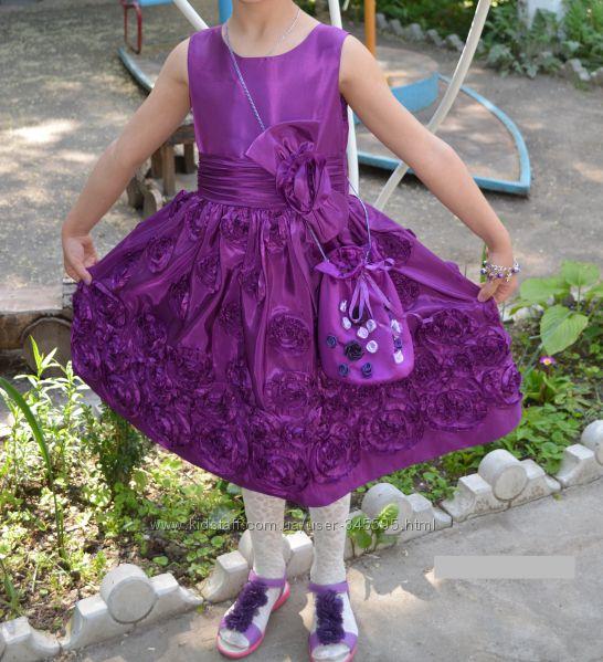 Нарядное платье Bonnie Jean и подарок