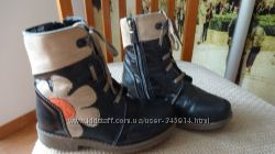 Кожаные ботиночки Берегиня