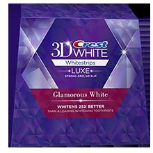 Отбеливающие полоски для зубов CREST WHITESTRIPS GLAMOROUS WHITE