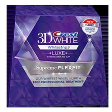 Отбеливающие полоски для зубов Crest 3D White Whitestrips Luxe Supreme Flex