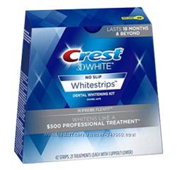 Обеливающие полоски - выгодная упаковка Crest Supreme FlexFit new 2016