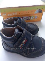 новые кожаные ботиночки 18р , 11, 5см, PABLOSKY Испания, 375гр