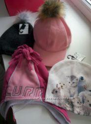 новые шапочки на 4-6лет. , 8-10лет H&M и  CHICCO , 150гр