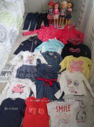 пакет фирменной одежды на девочку 5 лет