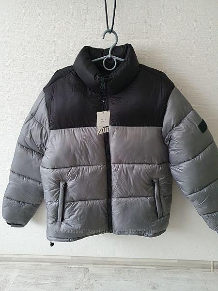 Теплая новая куртка Zara, XL