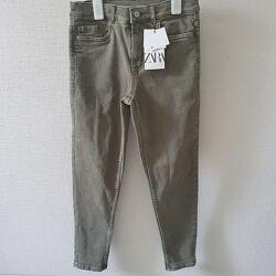 Новые фирменные джинсы Zara, Испания, 13-14лет,164см