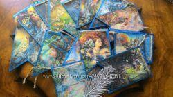 Новогодний флажок ручной работы Сказочный мир