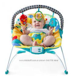 Музыкальное Кресло качалка KIDS II 60390 Улыбка саванны