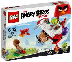 Lego Angry Birds Самолётная атака свинок 75822