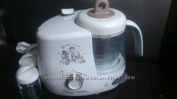Без крышки Блендер пароварка 4 в 1 Tefal Disney Baby home TD 7000